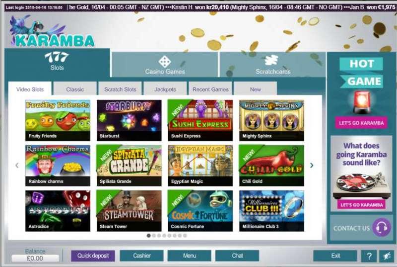 karamba online casino domino wetten